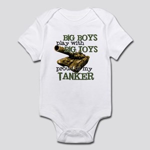 Big Boys Play with Big Toys T Infant Bodysuit
