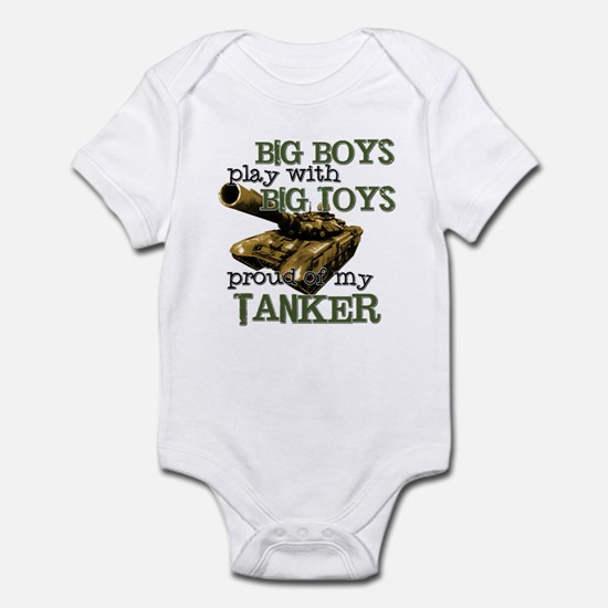 Big Boys Play with Big Toys T Infant Bodysuit