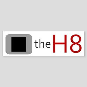 STOP THE HATE SHIRT T-SHIRT G Bumper Sticker