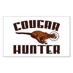 Cougar Rectangle Sticker 50 pk)