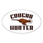 Cougar Oval Sticker (10 pk)
