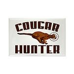 Cougar Rectangle Magnet (100 pack)