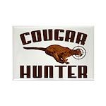 Cougar Rectangle Magnet (10 pack)