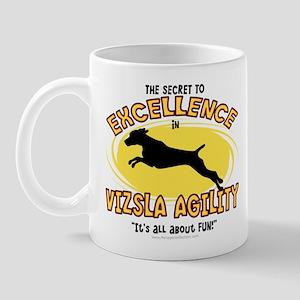 The Secret to Vizsla Agility Mug