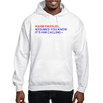 """""""Calling"""" Hooded Sweatshirt"""