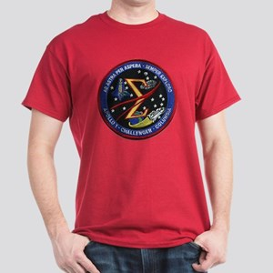 Space Flight Memorial Dark T-Shirt