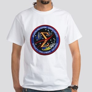 Space Flight Memorial White T-Shirt