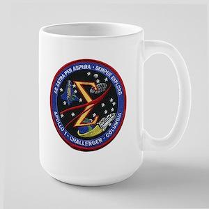 Space Flight Memorial Large Mug