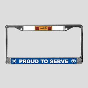 Vietnam Gallantry License Plate Frame