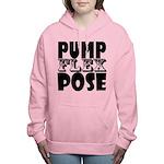 Bodybuilding Pump Flex P Women's Hooded Sweatshirt