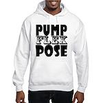Bodybuilding Pump Flex Pose Hooded Sweatshirt