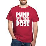 Bodybuilding Pump Flex Pose Dark T-Shirt