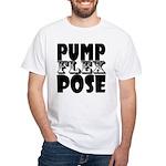 Bodybuilding Pump Flex Pose Men's Classic T-Shirts