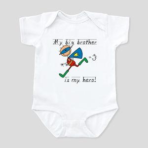 Big Brother My Hero Infant Bodysuit