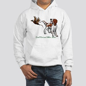 Irish Red and White Setter Sweatshirt