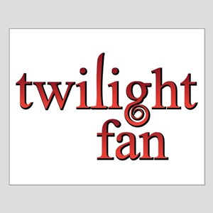 Twilight Fan Red Small Poster
