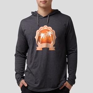 Huntington Beach Mens Hooded Shirt