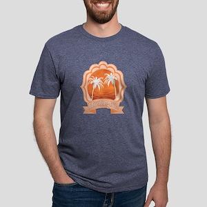 Huntington Beach Mens Tri-blend T-Shirt