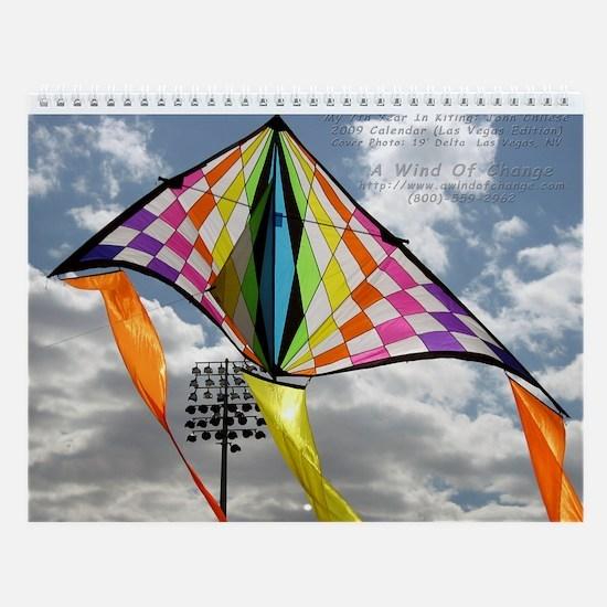 A Wind Of Change Kites 2009 C Wall Calendar