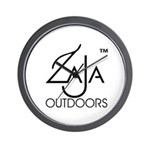 Zaja Outdoors Wall Clock