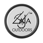 Zaja Outdoors Large Wall Clock