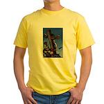 Crucifixion Yellow T-Shirt