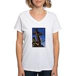 Crucifixion Women's V-Neck T-Shirt