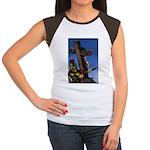 Crucifixion Women's Cap Sleeve T-Shirt