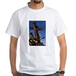 Crucifixion White T-Shirt