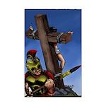 Crucifixion Mini Poster Print