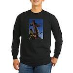 Crucifixion Long Sleeve Dark T-Shirt
