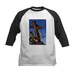 Crucifixion Kids Baseball Jersey