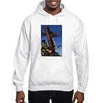 Crucifixion Hooded Sweatshirt