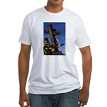 Crucifixion Fitted T-Shirt
