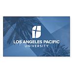 L. A. Pacific Palms 3 X 5 Rectangle Sticker