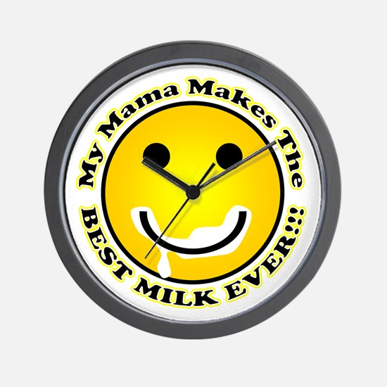 Best Milk Ever Wall Clock