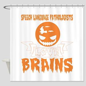Speech Language Pathologists Love B Shower Curtain