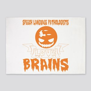 Speech Language Pathologists Love B 5'x7'Area Rug