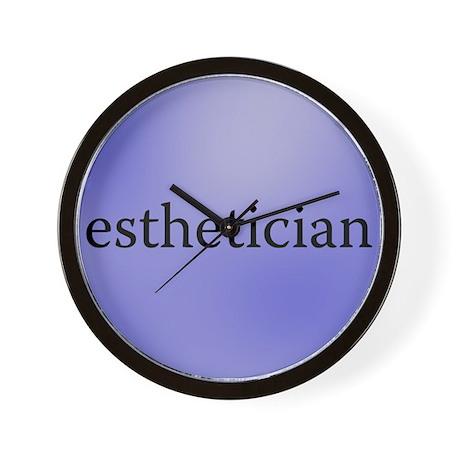 Esthetician's Clock Wall Clock