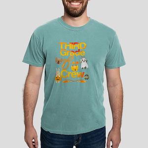 Halloween Third Grade Cute Boo Crew Vintag T-Shirt