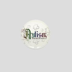 Autism Awareness - Medievel Mini Button