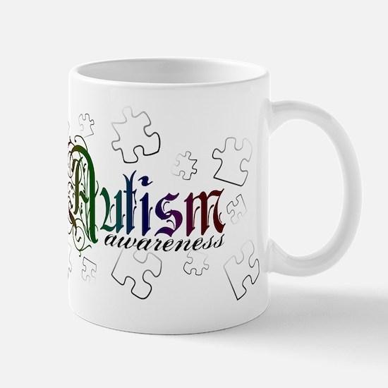Autism Awareness - Medievel Mug