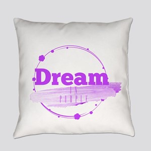 Dream In Purple Everyday Pillow