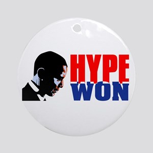 Hype won! Ornament (Round)