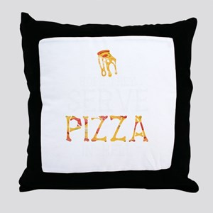 Pizza In Hell Throw Pillow