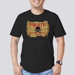 Pirate For Hire Fitted T-Shirt