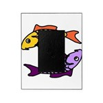 Pair of Abstract Colorful Carp Picture Frame