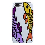 Pair of Abstract Colorful Carp iPhone 8/7 Plus Tou