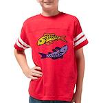 Pair of Abstract Colorful Carp T-Shirt