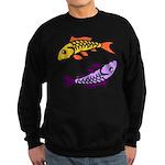 Pair of Abstract Colorful Carp Sweatshirt